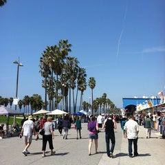 Photo taken at Venice Beach Boardwalk by Brian on 3/24/2012