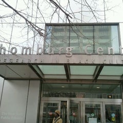 Photo taken at New York Public Library - Schomburg Center for Research in Black Culture by Russell M. on 2/22/2012