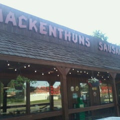 Photo taken at Mackenthuns Meats & Deli Inc by Victoria R. on 6/23/2012