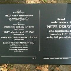 Photo taken at Benjamin Franklin's Grave by Craig Kristina on 7/18/2012