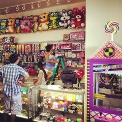 Photo taken at Luna Arcade by Luna Park Coney Island on 6/27/2012