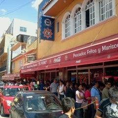 Photo taken at El Primo Pescados Fritos Y Mariscos by Laura S. on 7/29/2012
