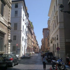 Photo taken at Via Giulia by Edoardo C. on 7/11/2012