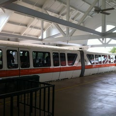 Photo taken at Monorail Orange by Colton B. on 7/31/2012