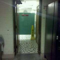 Photo taken at Executive Wash-room@ Lyman Hall by Drew F. on 9/29/2011