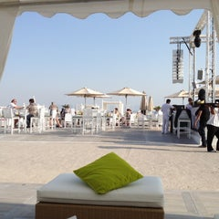 Photo taken at Nasimi Beach by Alvise F. on 1/28/2012