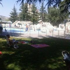 Photo taken at Piscinas Burlada by Fran P. on 8/21/2012