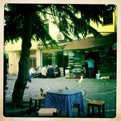 Photo taken at Kemal Baba Çay Evi by Ebru G. on 5/11/2012