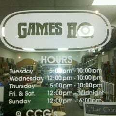Photo taken at Games HQ by Jessica on 12/24/2011