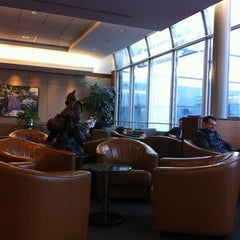 Photo taken at United Global First Class Lounge by Chase H. on 12/28/2011