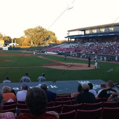 Photo taken at Fifth Third Bank Ballpark by Eileen R. on 8/7/2012