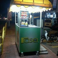 Photo taken at Rasa Kita Burger (2nd Store) by Saudagar Al-Asywan on 10/7/2011
