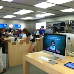 Photo taken at Apple Store, Pheasant Lane by Brittney M. on 8/16/2011