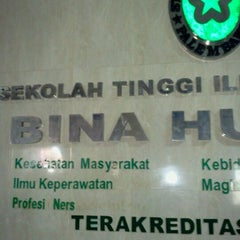 Photo taken at STIK Bina Husada Palembang (Kampus B) by Ahmad G. on 8/24/2011