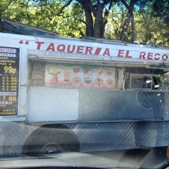 Photo taken at Taqueria El Recodo by Courtney H. on 4/19/2012