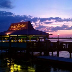Photo taken at Inlet Harbor Restaurant, Marina & Gift Shop by David R. on 9/30/2011
