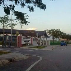 Photo taken at SMK Bandar Setia Alam by ~♥$@|€$$¥@ $♥~ on 1/31/2012