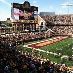 Photo taken at TCF Bank Stadium by Melissa K. on 9/17/2011