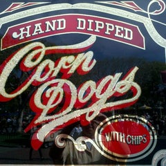 Photo taken at Little Red Wagon Corn Dogs by James C. on 1/27/2012
