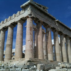 Photo taken at Ακρόπολη Αθηνών (Acropolis of Athens) by Christopher B. on 4/1/2011