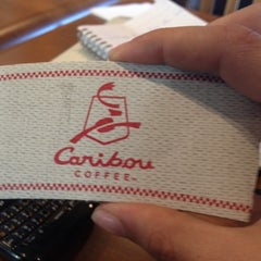 Photo taken at Caribou Coffee by Osama R. on 1/21/2012