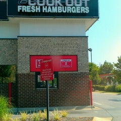 Photo taken at Cook-Out by Adam W. on 8/2/2012