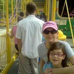 Photo taken at Wild Mouse by Usman M. on 8/27/2011