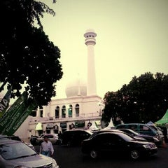 Photo taken at Universitas Al Azhar Indonesia by denny a. on 7/26/2012
