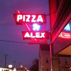 Photo taken at Pizza by Alex by John O. on 11/8/2011