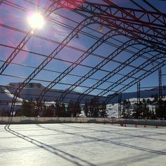 Photo taken at Skating Rink At Squaw Valley by James K. on 1/7/2011