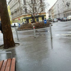 Photo taken at Sparkassaplatz by Anna Genial L. on 2/28/2012
