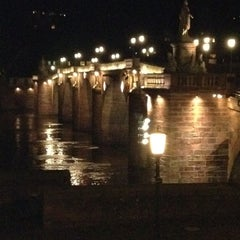 Photo taken at Alte Brücke by Roel K. on 12/11/2011