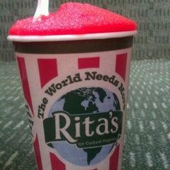 Photo taken at Rita's Italian Ice by Monyelle M. on 3/20/2012