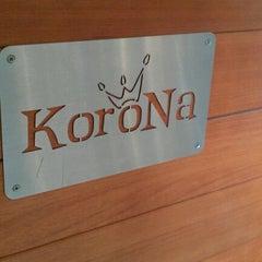 Photo taken at Korona by Mariusz R. on 11/13/2011