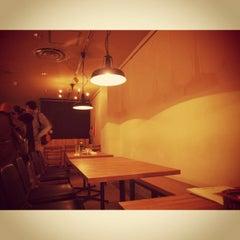 Photo taken at Cafe & Bar JAPONICA by hideyuki n. on 11/5/2011
