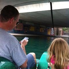 Photo taken at Wheel Fun Boat Rentals by Lisa P. on 7/30/2011