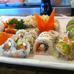 Photo taken at Sushi Hana Fusion Cuisine by Carrie J. on 9/25/2011