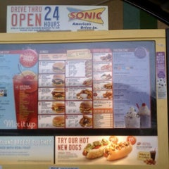 Photo taken at SONIC Drive In by Candice C. on 6/23/2012