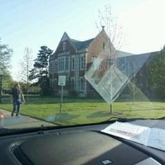 Photo taken at OU Visitor Center by Tara B. on 3/30/2012