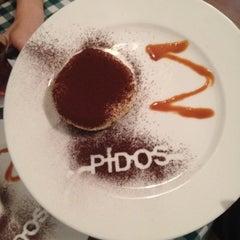 Photo taken at Pizzeria Pidos by Esra on 8/2/2012