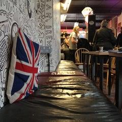 Photo taken at Brick Lane Coffee by Alex O. on 6/17/2012