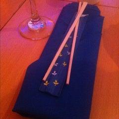 Photo taken at Ikebana Sushi Bar - Escorial by Jaime O. on 3/16/2012