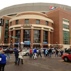 Photo taken at Edward Jones Dome by Dennis M. on 3/23/2012