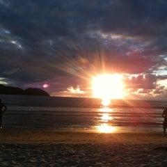 Photo taken at Barra do Sahy by Rafael G. on 12/30/2010