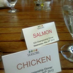 Photo taken at Seasons Restaurant by Jennifer P. on 5/31/2012