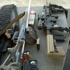 Photo taken at Angeles Shooting Ranges by Bill G. on 1/21/2012