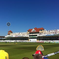 Photo taken at Trent Bridge Cricket Ground by Barney W. on 5/27/2012