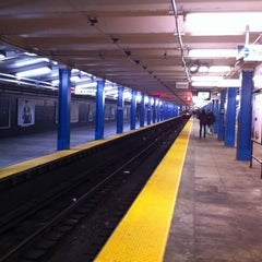 Photo taken at 33rd St PATH Station by Andrew G. on 1/3/2012