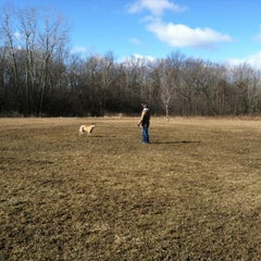 Photo taken at Prairie Wolf Dog Exercise Area by Amanda H. on 2/19/2012