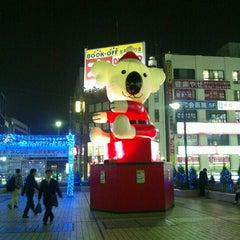 Photo taken at 松戸駅 (Matsudo Sta.) by ゆき 水. on 11/28/2011